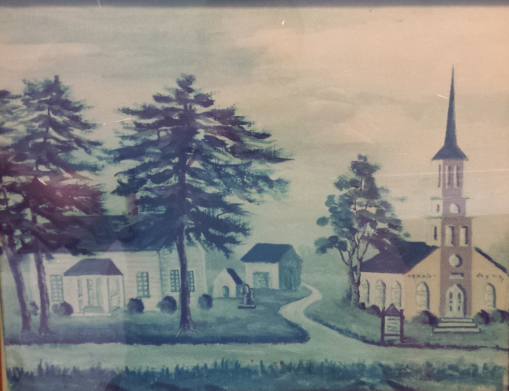 Painting of Second Church